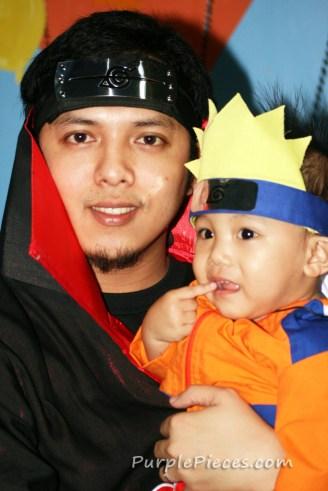 Baby Naruto Cosplay