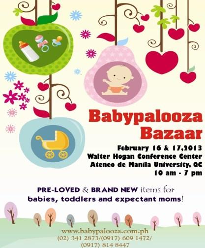 Babypalooza Bazaar 2013 - Ateneo de Manila University