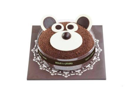 Tous Les Jours Cutie Bear Cake