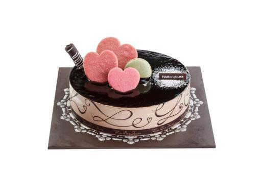 Tous Les Jours - Dark Glaze Chocolat Cake