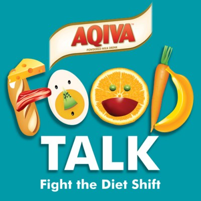 AQIVA Milk Food Talk Logo