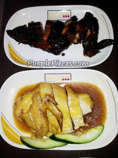 Hainanese Delights Menu
