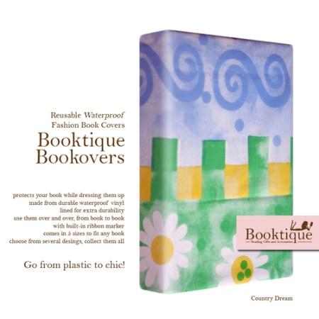 Booktique Waterproof Bookcovers