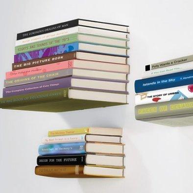 Floating Book Shelf by Umbra