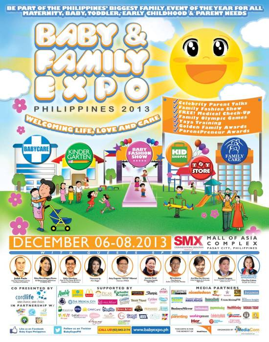 Baby and Family Expo Philippines 2013 Poster