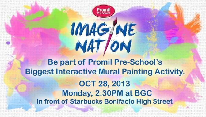 Promil Pre-School Imagine-Nation Event