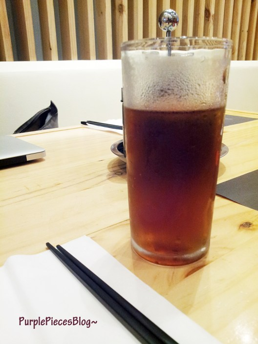 Ikkoryu Ramen Menu - Barley Tea