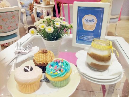 VCB cupcakes
