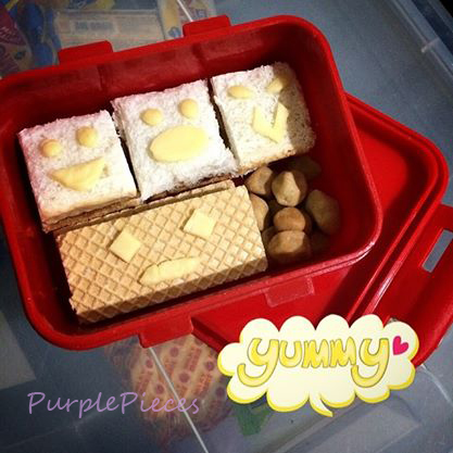 Bento Wafers Sandwiches