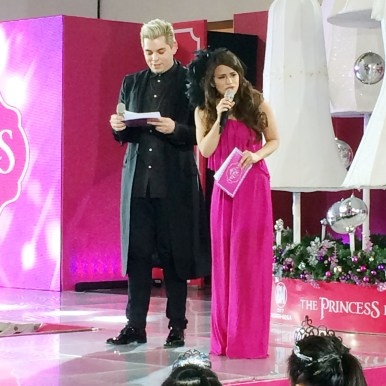 Hosts Raymond Gutierrez & Denise Laurel