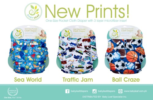 Baby Leaf Cloth Diapers Philippines