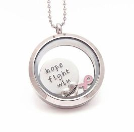 Breast Cancer Hope Origami Owl