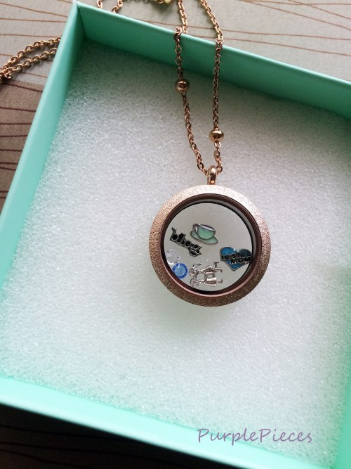 Living Lockets with Charms