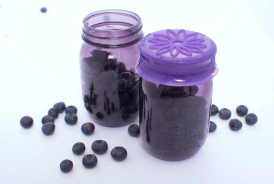 Mason Jar Purple ucap