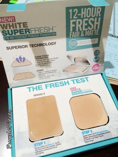 Maybelline White Superfresh UV Powder Foundation
