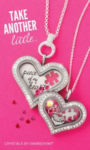 Mother Daughter Glass Lockets