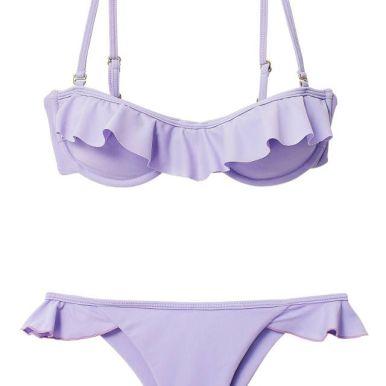 Pastel Lilac Swimsuit