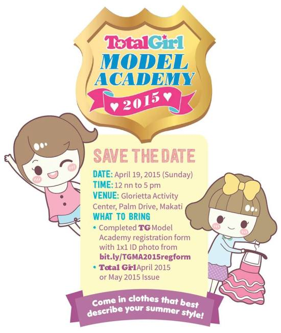 Total Girl Model Academy 2015