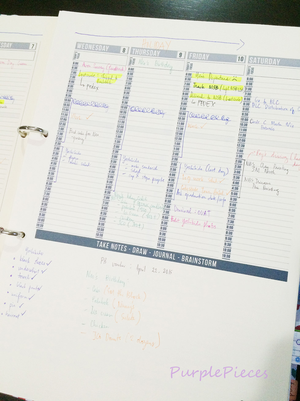 It is a picture of Passion Planner Printable inside 24 hour day planner