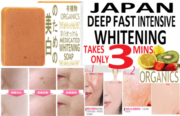 Yamashiro Japan Whitening Soap Review