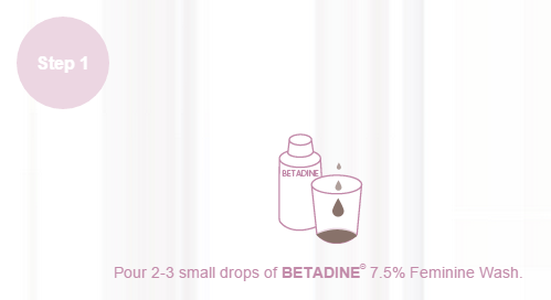 Betadine Feminine Wash How To Use
