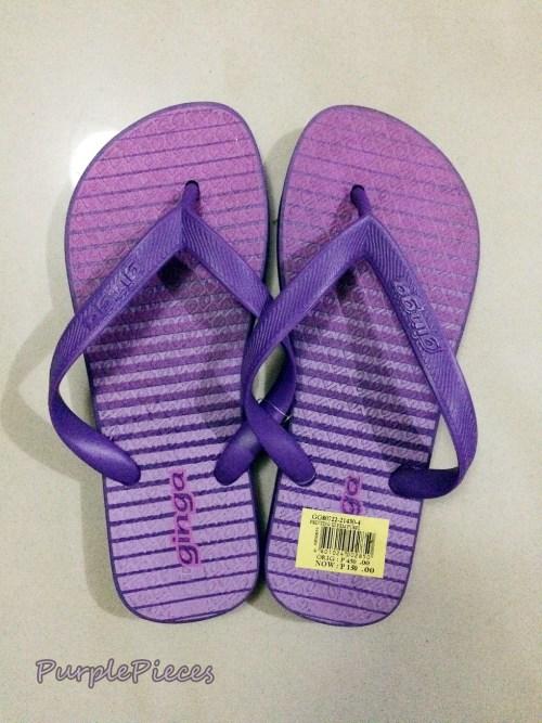 Ginga Purple Slippers
