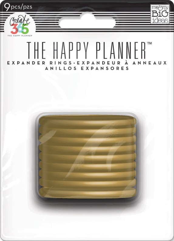 The Happy Planner Expander Rings Gold