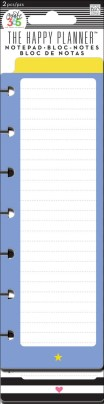The Happy Planner Notepad