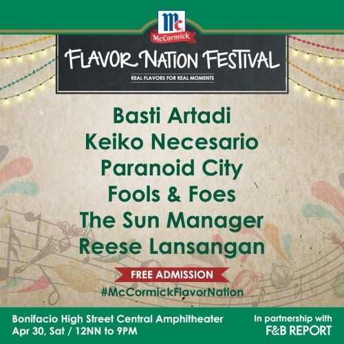 McCormick Flavor Nation Festival - Music Artists