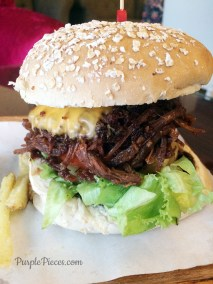 Pulled Pork BBQ Burger - Quims Cake