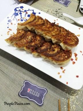 Osaka Ohsho Bacon and Cheese Gyoza