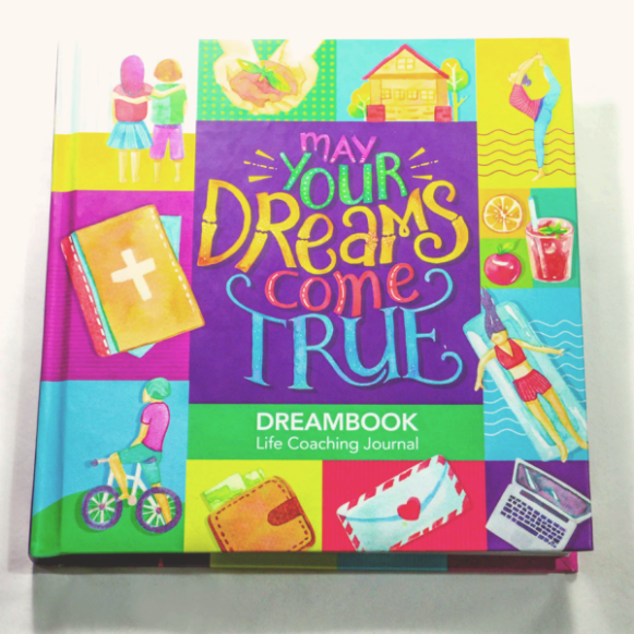 HARDBOUND DREAMBOOK MAY YOUR DREAMS COME TRUE DAILY PLANNER