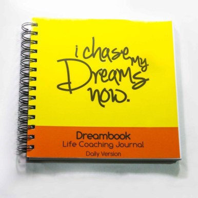 WIREBOUND DREAMBOOK I CHASE MY DREAMS NOW – DAILY PLANNER