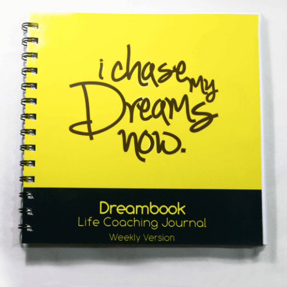 WIREBOUND DREAMBOOK I CHASE MY DREAMS NOW – WEEKLY PLANNER