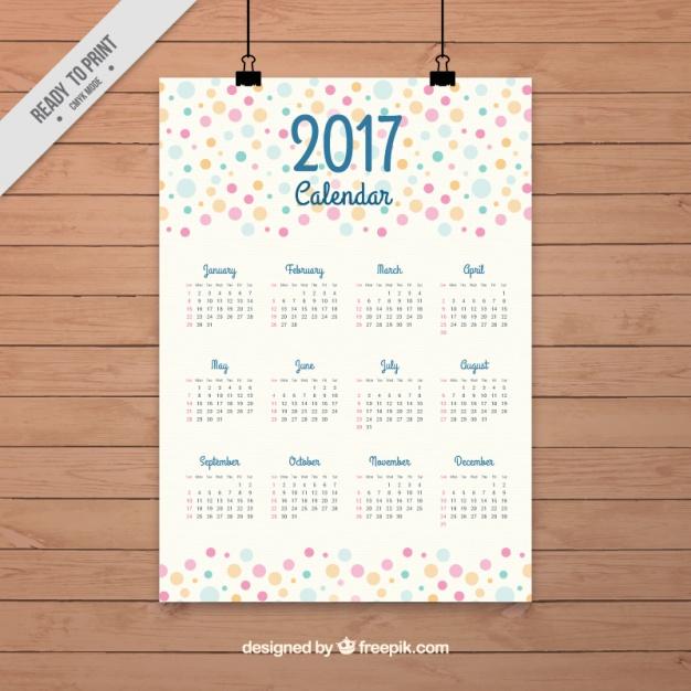 beautiful-2017-calendar-of-colored-circles_23-2147579087