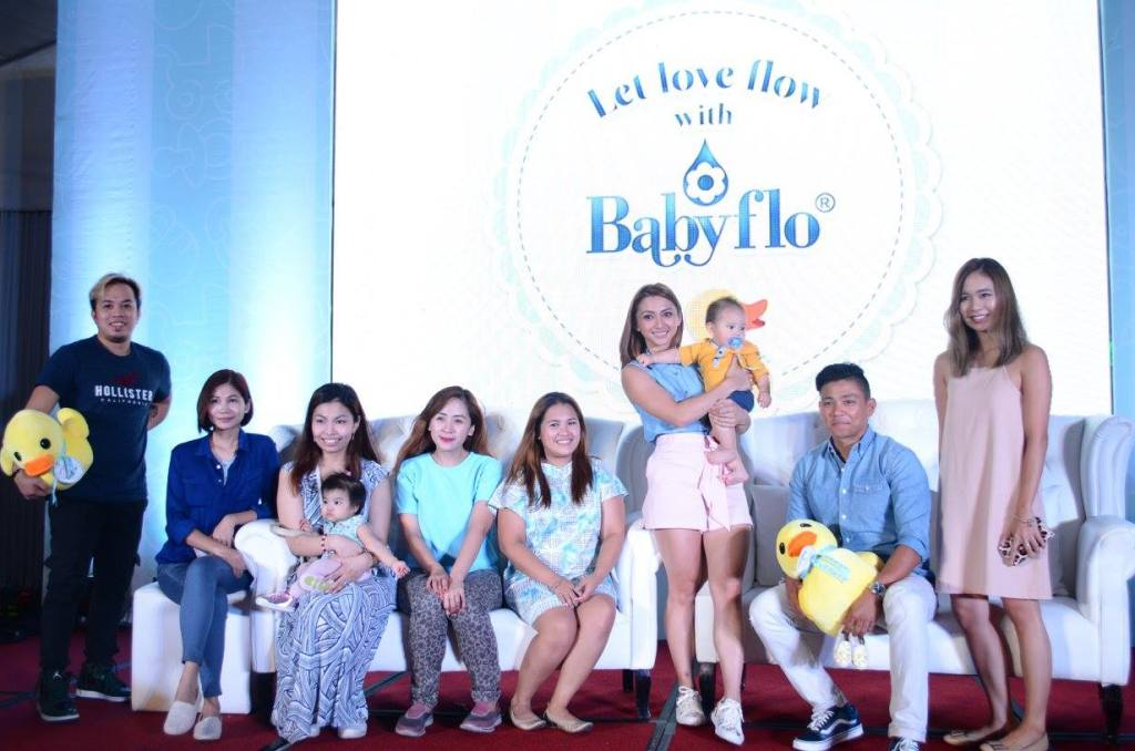 Nuffnang Mommy Bloggers - Babyflo Campaign Launch