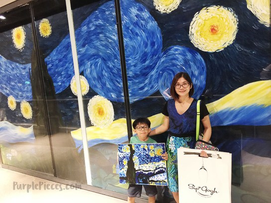 Sip & Gogh Century City Mall Makati