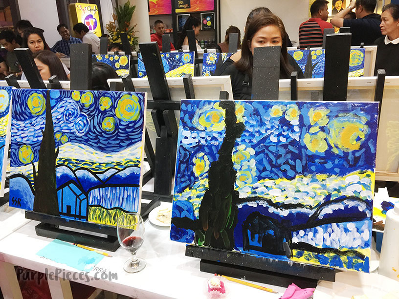 Sip & Gogh Paintings
