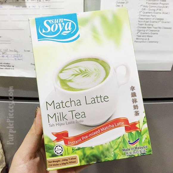 SunSoya Matcha Latte Milk Tea