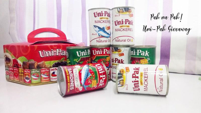 Uni Pak Mackerel Giveaway