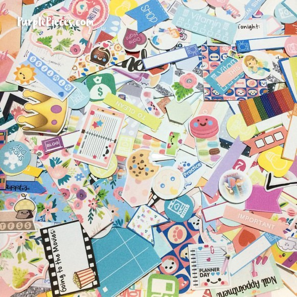Sticker Flakes for Planners