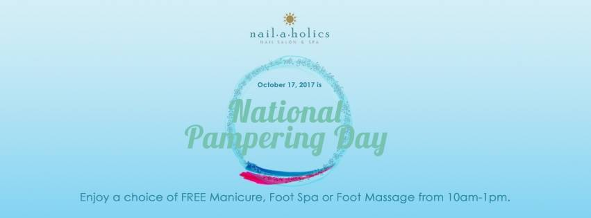 National Pampering Day - Nailaholics Nail Salon