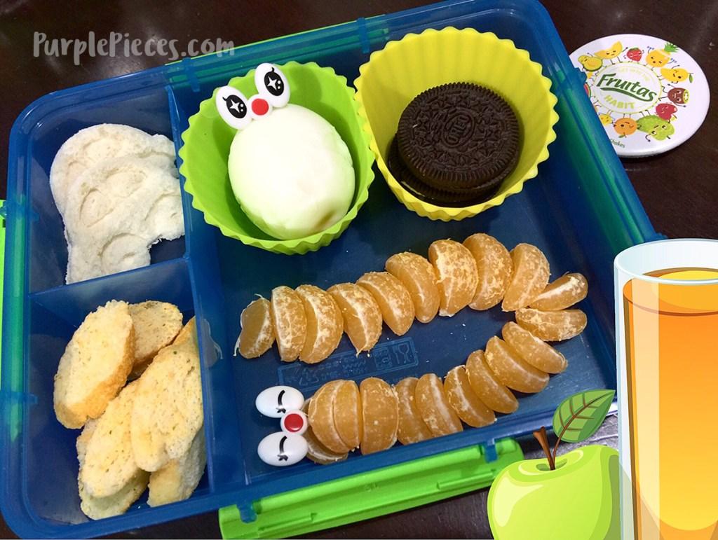 Caterpillar Bento Box