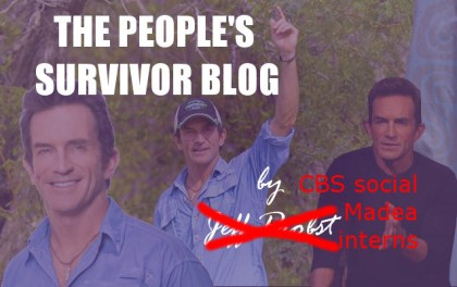 People Survivor Blog by Jeff Probst interns