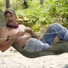 Survivor Cambodia Keith in hammock