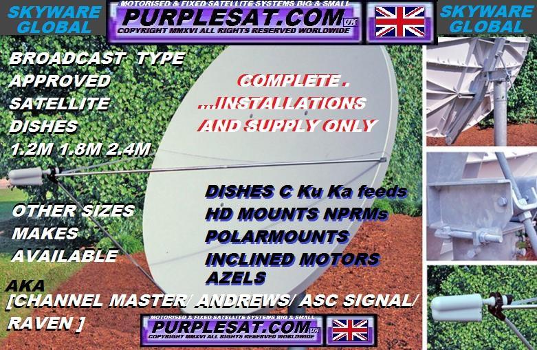 purplesat – MOTORISED SATELLITE INSTALLATIONS WITH IPTV