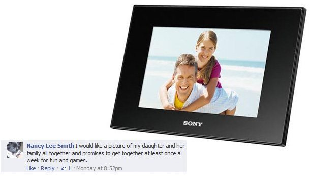 7-Inch LED Backlit Digital Photo Frame - PurposeFairy.com