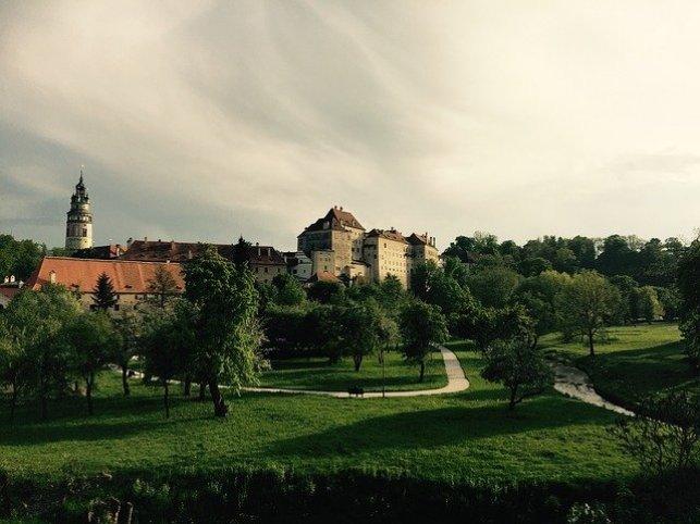 krumlov castle gardens