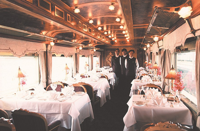 Restaurant Car The Amazing and Luxurious Train Travel Benefits