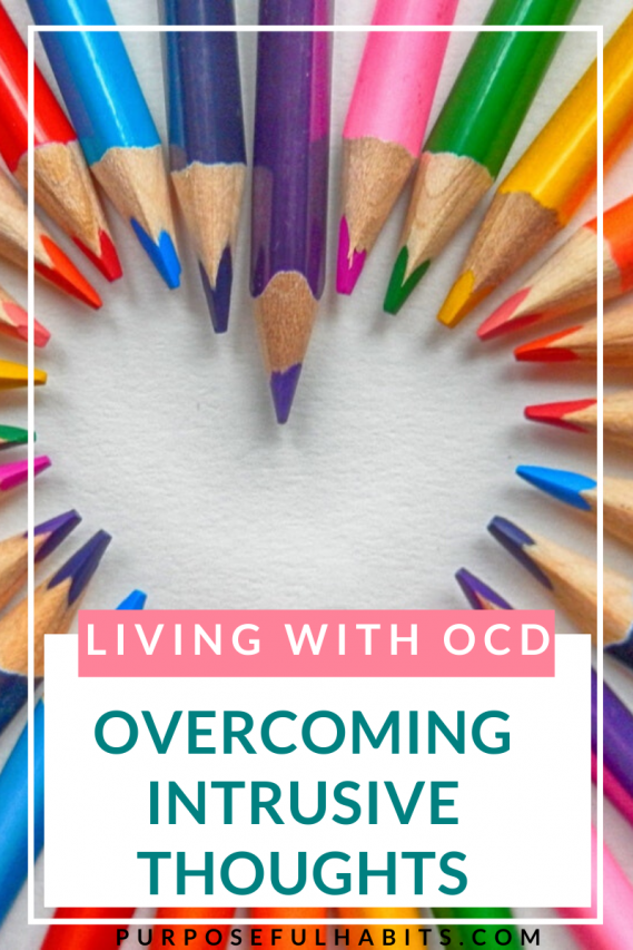 Doors locked? Iron unplugged? Lights out? What happens when these become rituals you obsess about? Do you have one of the 5 types of OCD? Click throught to read how to deal with the anxiety that comes with intrusive thoughts. #OCD #anxiety #change #stress #stressfree #help #mentalhealth